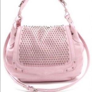 Rebecca Minkoff Baby Pink Moonstruck Hobo Bag